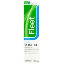 """Fleet"" Enema {Ready-to-Use} Saline Laxative 4.5 fl oz (133 ml)"