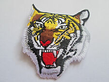 Tiger Meet Embroidered Patch - 60mm- P124