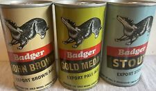 Badger by Hall & Woodhouse Ltd - 11.5 oz. - S/S Set (3 Cans) - - Execellent