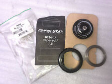 """Chris King InSet 7 Headset 1-1/8"""" ~ 1.5"""" tapered, new upper, used lower"""