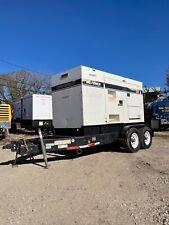 Multiquip Dca125ssju4i 100kw Trailer Mounted Diesel Generator Load Bank Tested