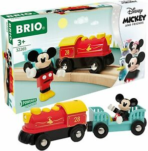 BRIO Disney Mickey and Friends - Mickey Mouse Battery Train BRAND NEW