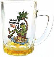 Puerto Rico Flag Souvenirs Mini Mug Shot Glass ( Boriqua , Rican ) 3oz coqui