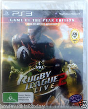 PS3 Rugby League Live 2 Game of the Year Edition