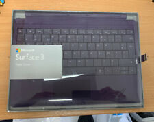 GENUINE MICROSOFT SURFACE 3 Type Cover AZERTY Keyboard In Purple