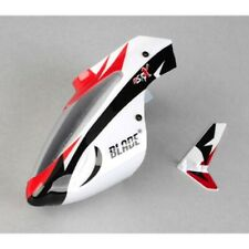 Blade BLH3218 Complete White Body/Canopy with Vertical Fin: mSR X/mSRX