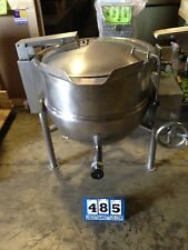 "Groen Dlt-40 Direct Steam Tilting Kettle 2"" Tdo Valve Bbq Broth Chili Soup(#485)"