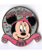 Disney Auctions - Happy New Year 2003 Minnie mouse confetti sparkle pin