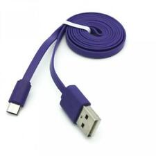 PURPLE MICRO USB CABLE FAST CHARGE POWER CORD WIRE 6FT LONG For PHONES & TABLETS