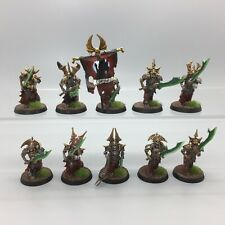 WARHAMMER AGE OF SIGMAR UNDEAD LEGIONS OF NAGASH SKELETON GRAVE GUARD PAINTED