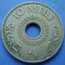 Palestine - Palestina 10 Mils Ten Mils 1935 - KM# 4
