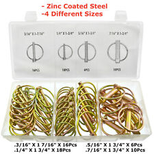 50pc Lynch Pin Set(Linchpin)Locking Pin Clip Assortment Set For Trailers,lorry's