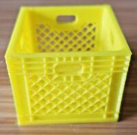 RC 1/10 Scale Yellow Toy Milk Crate Rock Crawler Truck Garage Mini Accessories