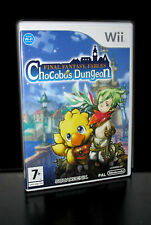 FINAL FANTASY FABLE CHOCOBOS DUNGEON GIOCO USATO NINTENDO Wii ED ITALIANA PG179