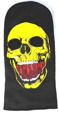 Skii Snowboard Mask-Skull-yellow