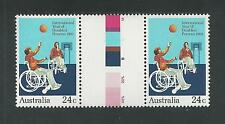 Australia # 810 Mnh International Year Of Disabled Persons ( Gutter Pair )