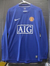 NWT Authentic Nike 2008 Manchester United Player Issue Long Sleeve Jersey XXL