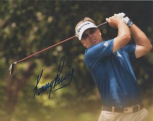 Kenny Perry PGA Champion Signed Autograph 8x10 Photo K2 COA GFA