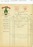 Dépt 30 - Les Bouillens Vergèze - Belle Entête Célèbre Source Perrier 10/06/1911