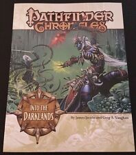 Pathfinder Chronicles INTO THE DARKLANDS Paizo PZO9204 D&D 3.5 OGL Dungeons NEW!