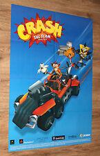 Crash Tag Team Racing / Spyro A Hero's Tail Poster 57x80cm Nintendo Gamecube PS2