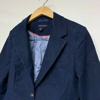 Tommy Hilfiger Navy Blazer Size UK12 US 6  Women's Jacket