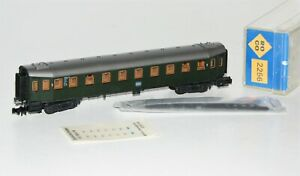 Roco N 2256 Personenwagen Hecht 2. Klasse der DB OVP TM2053