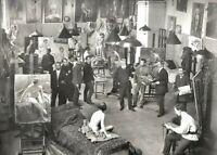"""PHOTOGRAPHIE,  """"L'Académie de peinture"""",  Paris 1913        /      N&B"""