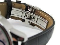Replacement Leather Watch Band Strap Made For Tissot Powermatic 80 Silver Dial