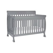DaVinci Kalani 4-in-1 Convertible Crib w/ Toddler Conv. Kit, Grey - M5501G
