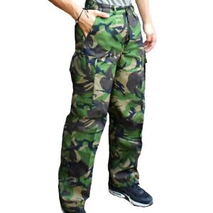New Dutch army camo trousers pants military camouflage cargo combat woodland