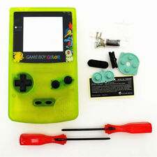 Night Light Noctilucent Clear Yellow Housing Shell Case for Game Boy Color GBC
