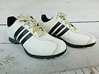 ADIDAS Men's Size 6.5 Tour 360 Golf Shoes EVG-791003 Black White With Spikes