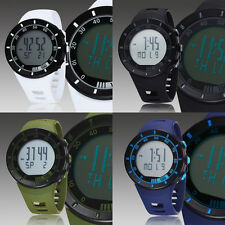 OHSEN Mens Chronograph Day Date Alarm Light Digital Swim Quartz Wrist Watch New