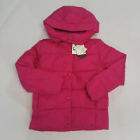 NWT Gap Kids Girls Size 10 12 or 14-16 Pink Eco Puffer Coat Jacket