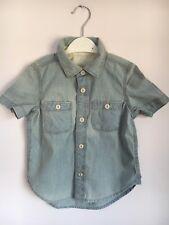 BabyGap Boys Denim Short Sleeved Shirt - Size 2 Years