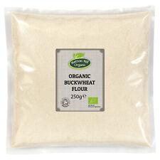 Organic Gluten Free Sarrasin farine 250 G Certified Organic