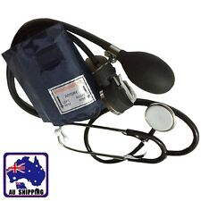 1Set Sphygmomanometer Manual Blood Pressure Monitor with Stethoscopes SPSCO3366