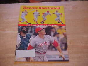 The Reds Brash Pete Rose  May 27, 1968 Sports Illustrated