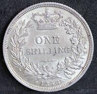 Victoria, Silver Shilling, 1856. EF / gEF. S3904 Scarce.