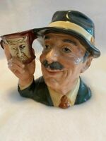 Royal Doulton Character Jug Signed and and Numbered The Collector D6796 Large