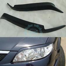 For Mazda Protege 323 2001-03 Jdm Sport Headlights Eyebrow Eyelids Fiberglass 2X