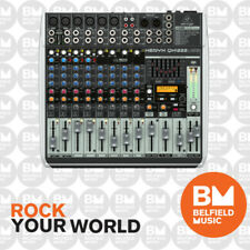 Behringer XENYX QX1222USB Mixer Small Format 16 Input w/Multi FX Audio Interface