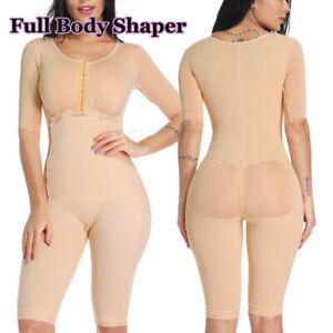 Women Waist Trainer Bodysuit Butt Lifter Tummy Control High Waist Shapewear BBL