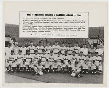 1956 Reading Indians team photo Old Reading Beer Eastern League