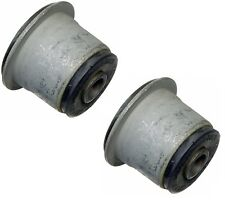 Pair Set of 2 Front Differential Carrier Bushings Moog for GMC Jimmy Typhoon