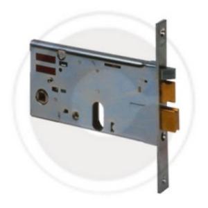 Cerradura eléctrica cisa 14461 cerradura eléctrica 70 mm para perfiles sin cilin