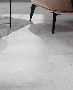 £19.89/m2 Light Grey Terrazzo Matt Porcelain Tile 120x60 Wall-Floor SAMPLE