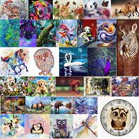 Diamond Painting Animal Cross Stitch Embroidery Mosaic Kit Needlework Set Round