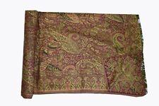 Pashmina Blanket Throw Reversible India Bedding Queen